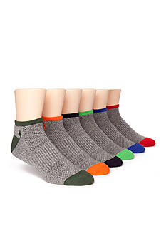Polo Ralph Lauren 6-Pack Technical Sport Socks
