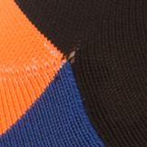 Mens Athletic Socks: Royal Blue/Black Polo Ralph Lauren Athletic Blocked Mesh Low-Cut Socks - Single Pair