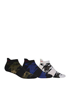Polo Camo Tip Ankle Socks - 3 Pack