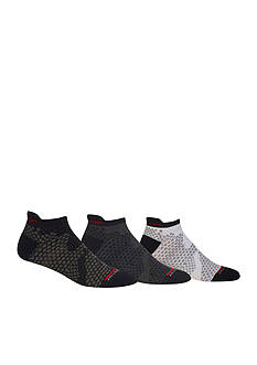 Polo Snow Camo Lipped Ankle Socks - 3 Pack