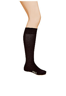 Polo Ralph Lauren Over The Calf Dotted Socks - Single Pair