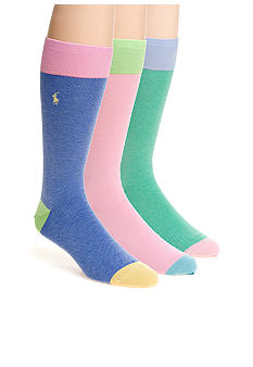 Polo Ralph Lauren Color Block Sock