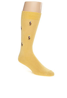 Polo Ralph Lauren Allover Pony Socks - Single Pair