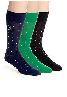 Polo Ralph Lauren Polka Dot Socks