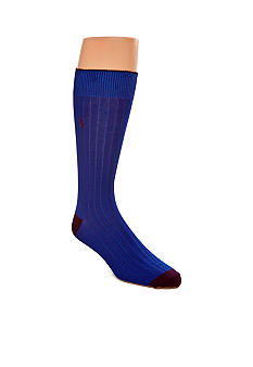 Polo Ralph Lauren Mercerized Rib Socks - Single Pair