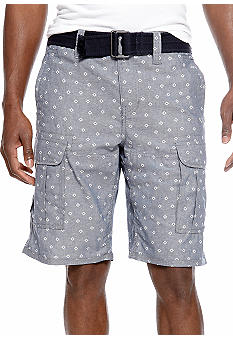 DKNY Jeans Diamond Chambray Cargo Shorts