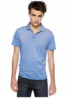 DKNY Jeans Two Tone Picque Polo