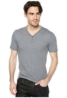 DKNY Jeans Two-Pocket Henley Tee