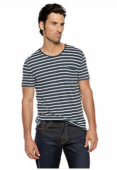 DKNY Jeans Stripe Pocket Tee