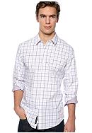 DKNY Jeans Plaid Sport Shirt