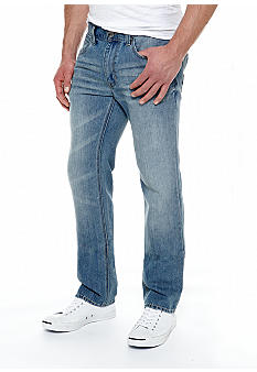 DKNY Jeans Soho Straight Leg Light Denim