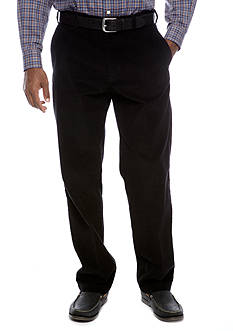 Haggar® Flat Front Corduroy Pants