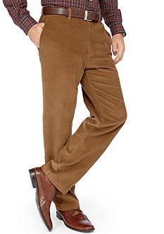 Haggar® Flat Front Corduroy Pant