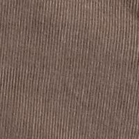 Mens Comfort Waist Pants: Khaki Haggar Flat Front Corduroy Pant