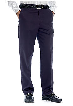 Haggar Work-To-Weekend Flat Front Pants