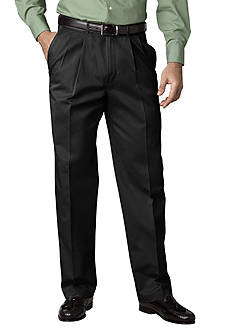 Haggar Classic Fit Work To Weekend™ Pleated Non-Iron Pants