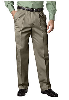 Haggar Work To Weekend No Iron Pleat Front Pants