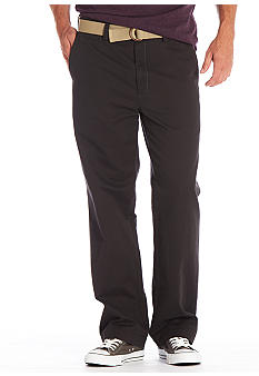 Haggar Life Khaki Straight Relaxed Fit Chinos