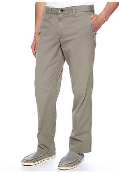 Haggar Life Khaki Chino Straight Relaxed Fit Pants