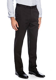 Haggar Straight-Fit Work to Weekend™ Flat-Front Non-Iron Pants