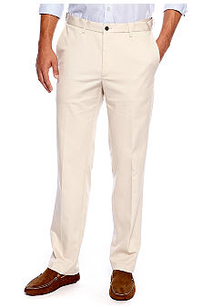 Haggar® Straight-Fit Work to Weekend™ Flat-Front Non-Iron Pants