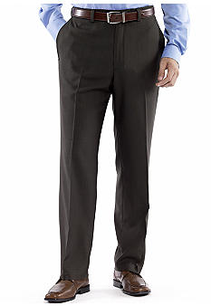 Haggar Smart Fiber Repreve Flat Front Dress Pants