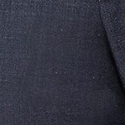 Men: Dress Sale: Medium Grey Haggar eCLo™ Stria Classic Fit, Pleated, Hidden Expandable Waist Dress Pants