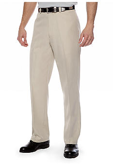 Haggar® Straight-Fit Flat-Front Non-Iron Dress Pants