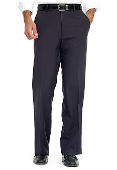 Haggar Straight Fit Microfiber Pants