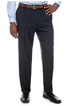 Haggar® Big & Tall Smart Fiber Repreve® Pleated Dress Pants