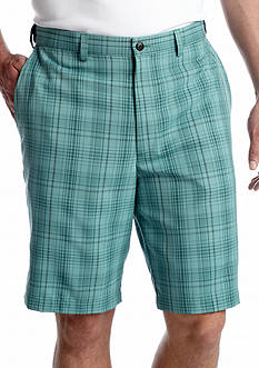 Haggar® Cool 18® Microfiber Check Shorts
