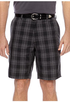Haggar Cool 18 Sport Check Shorts