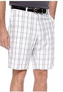 Haggar® Cool 18 Windowpane Plaid Shorts