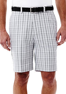 Haggar Cool 18® Plaid Performance Shorts