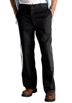 Dickies Loose Fit Double Knee Twill Work Pant with Cell Phone Pocket