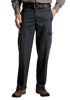 Dickies Relaxed-Fit Cargo Wrinkle-Free Pants