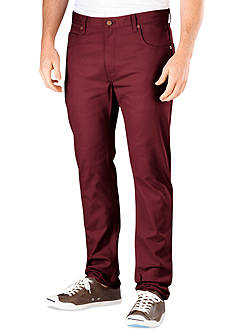 Dickies® Slim-Fit Flat-Front Wrinkle-Resistant Pants