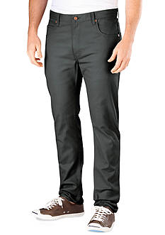 Dickies Slim Fit 5-Pocket Flat Front Pants
