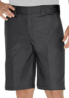 Dickies Regular-Fit Poplin Work Shorts