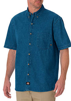 Dickies Short Sleeve Denim Shirt