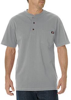 Dickies Short Sleeve Heavyweight Henley Shirt