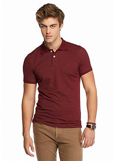 Red Camel Solid Polo Shirt
