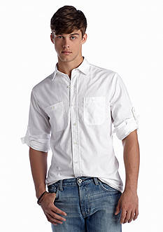 Mens White Casual Shirts | Belk