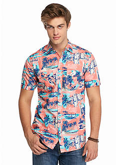 Red Camel Short Sleeve Miami Woven Shirt