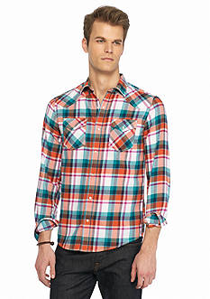 Red Camel Brushed Twill Western Shirt