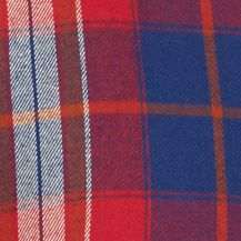 Cold Weather Shop: Flannel: Red/Blue Red Camel Long Sleeve Flannel Woven Shirt