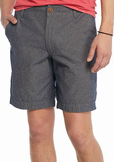 Red Camel 9-in. Solid Chambray Shorts