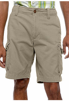 Red Camel Cargo Shorts