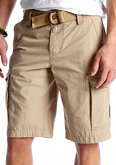 Red Camel® Poplin Cargo Shorts