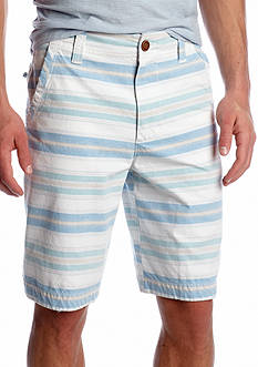Red Camel® Flat Front Horizontal Stripe Short